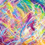 contemporary art rainbow